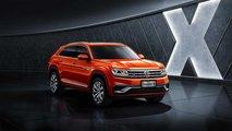 Volkswagen'in Teramont X Adlı Yeni Coupe-SUV'si (Çin'e Özel)