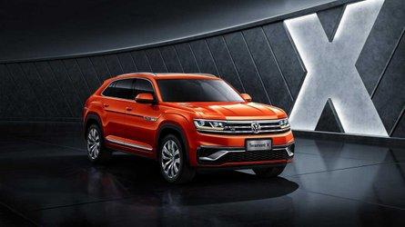 VW Teramont X, primeiro SUV-cupê da marca, faz estreia na China