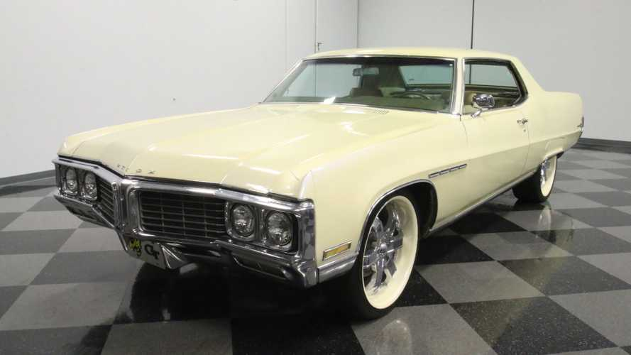 1970 Buick Electra 225 Sports A Custom Pearl White Paint Job