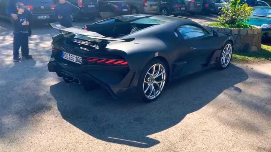 Bugatti Divo spotted in Germany