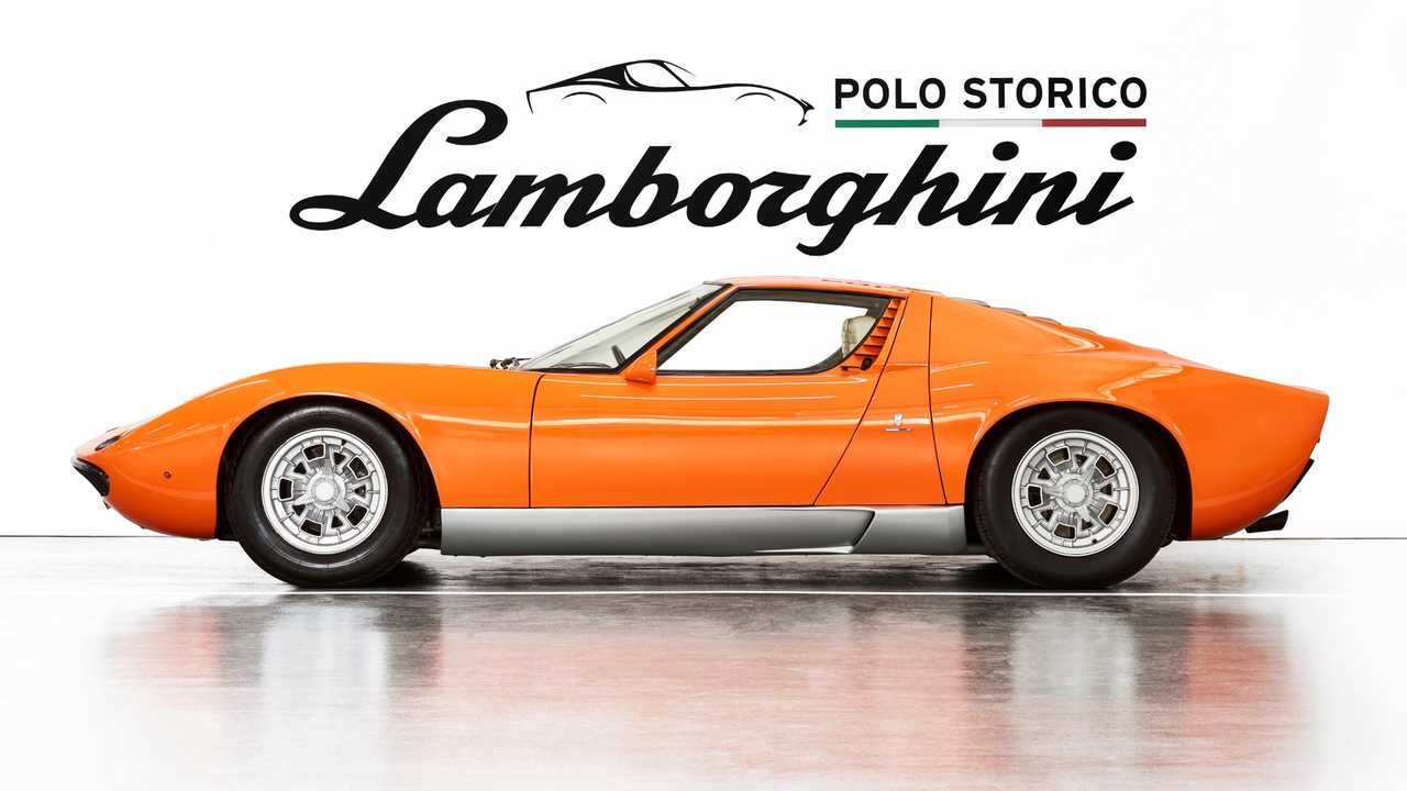 The Italian Job Lamborghini Miura