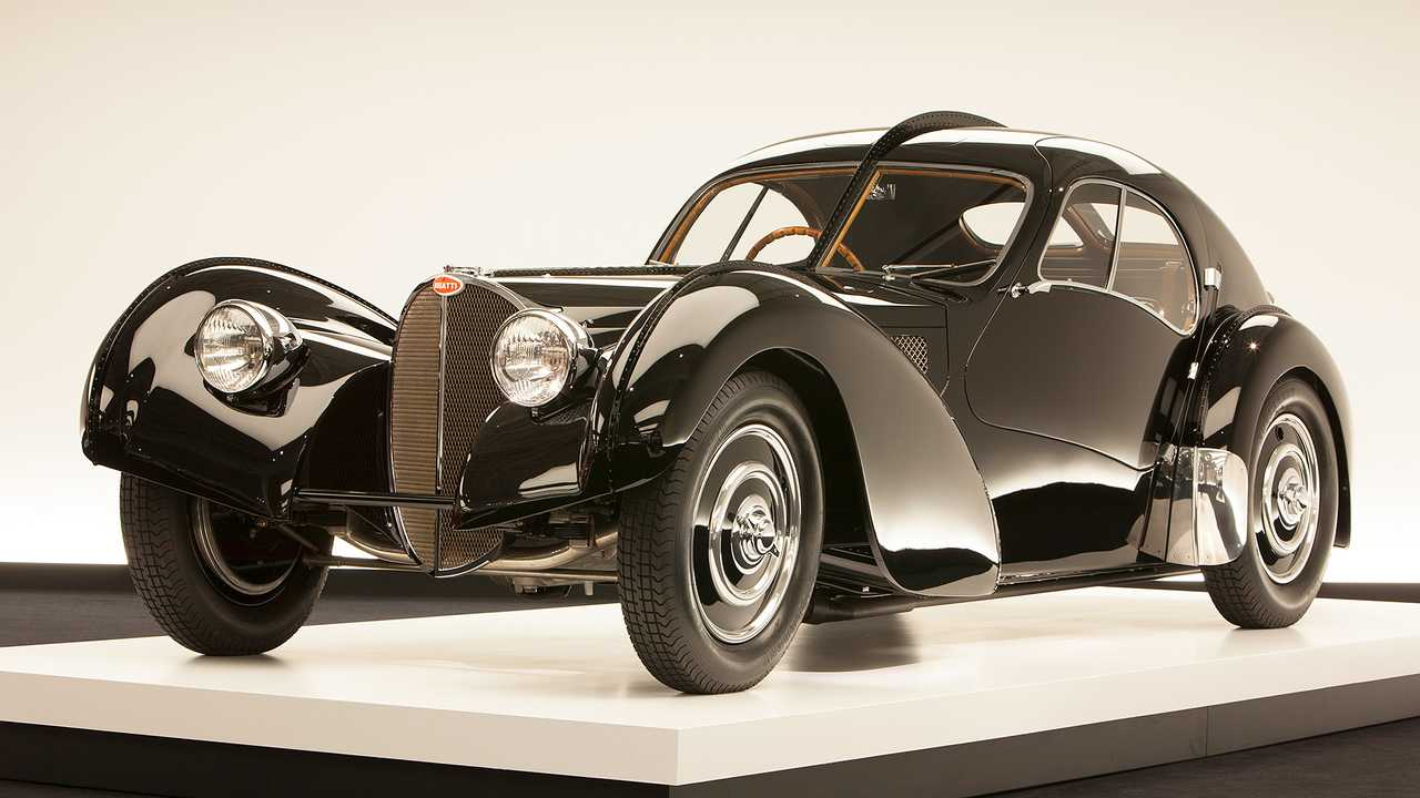 Bugatti Type 57 SC Atlantic - 42 млн евро