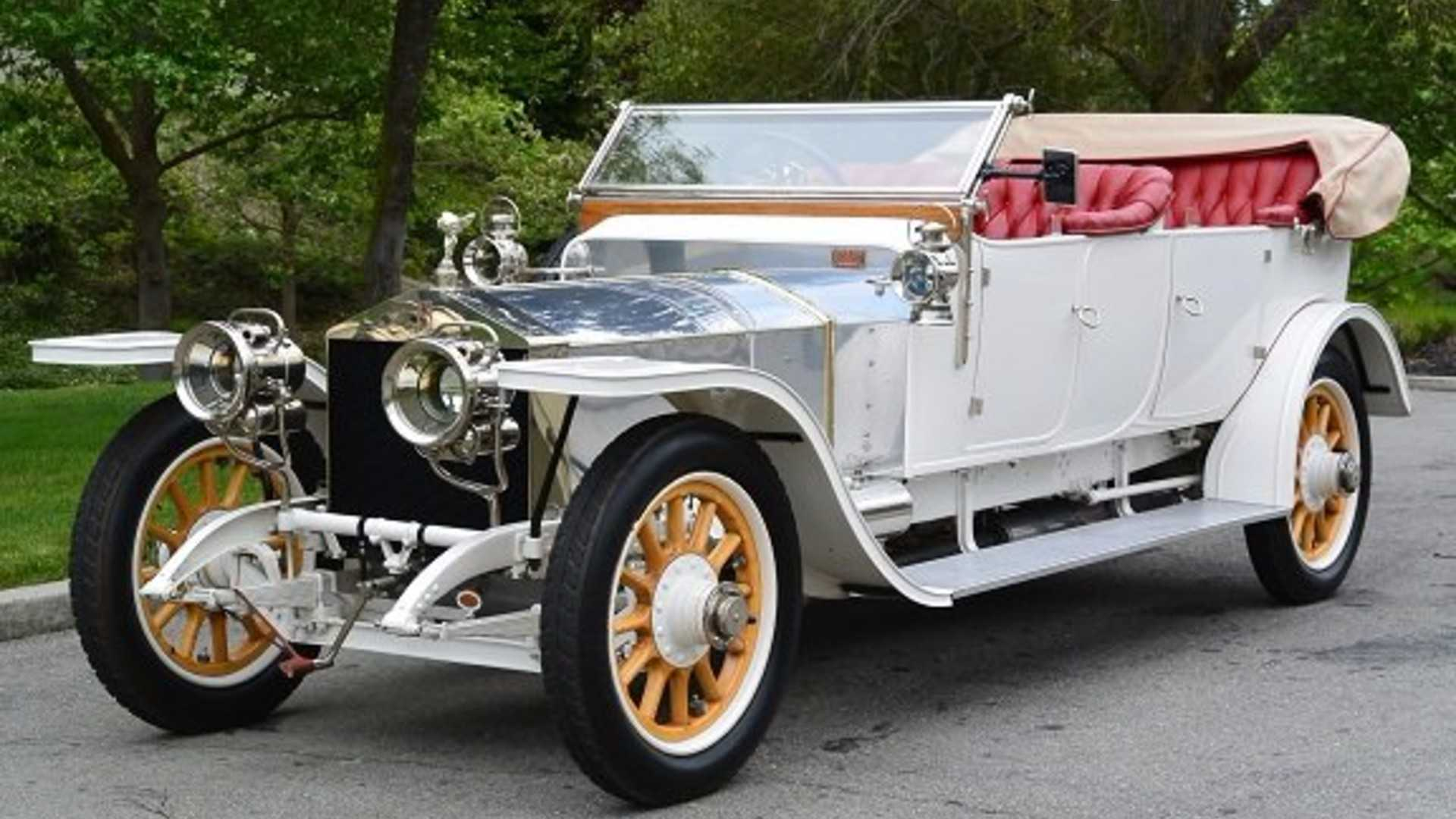 1911 Rolls-Royce Silver Ghost Is One Of Only 20 Survivors