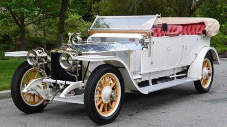 1911 rolls royce silver ghost