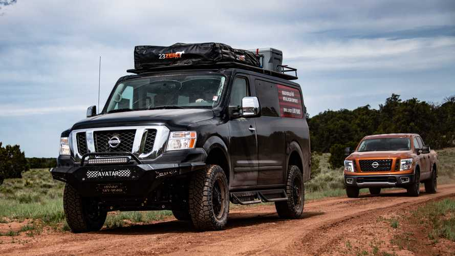 Lifted Nissan NV Packs Host Of Gnarly Off-Road Upgrades