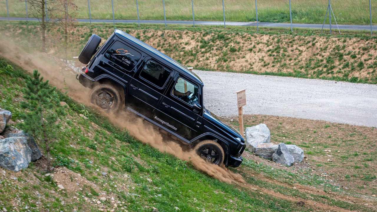 Mercedes Celebrates G-Class Anniversary With Exclusive