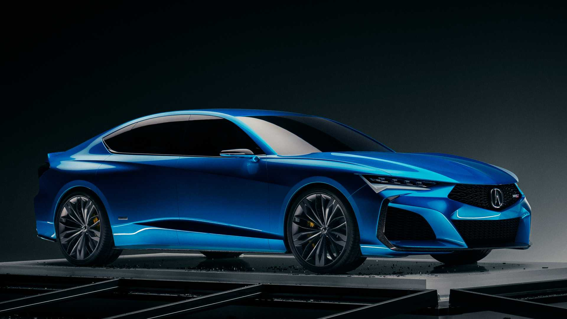 Acura Type S Concept Debuts As Sporty Vision Of Four-Door Future