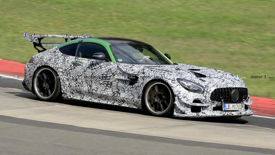 Mercedes-AMG GT Black Series, test con il nuovo motore