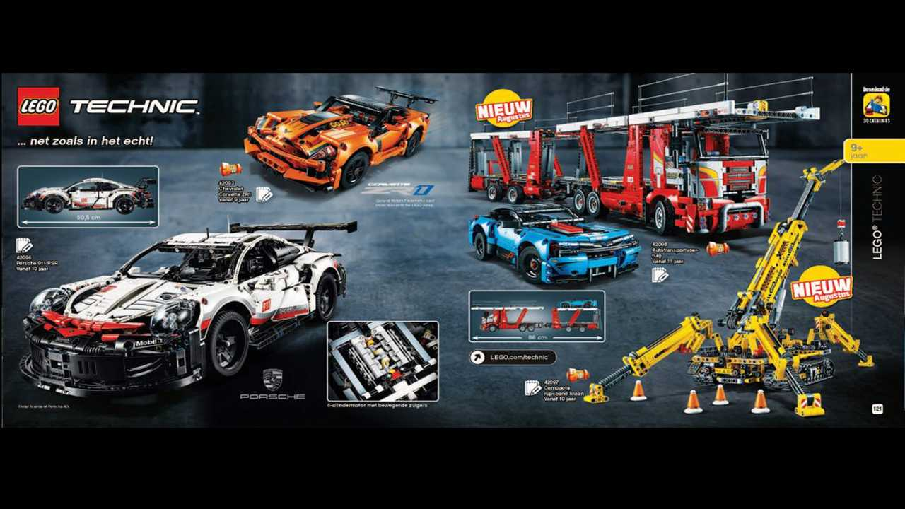 New Lego Porsche 911, Car Carrier And Technic Kits Coming Soon