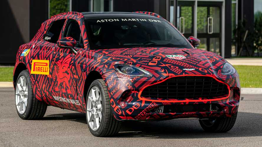 Aston Martin DBX Enters Pre-Production; Debuts Late 2019