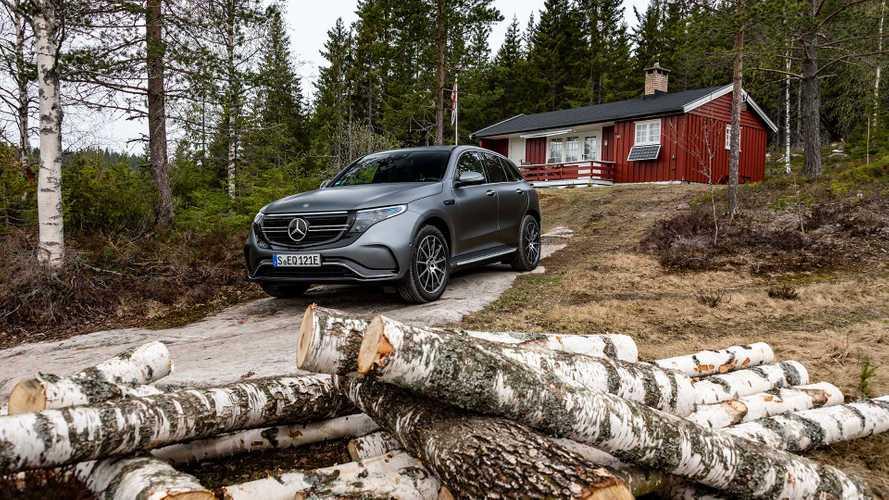 Электрокроссовер Mercedes-Benz легализовали в России
