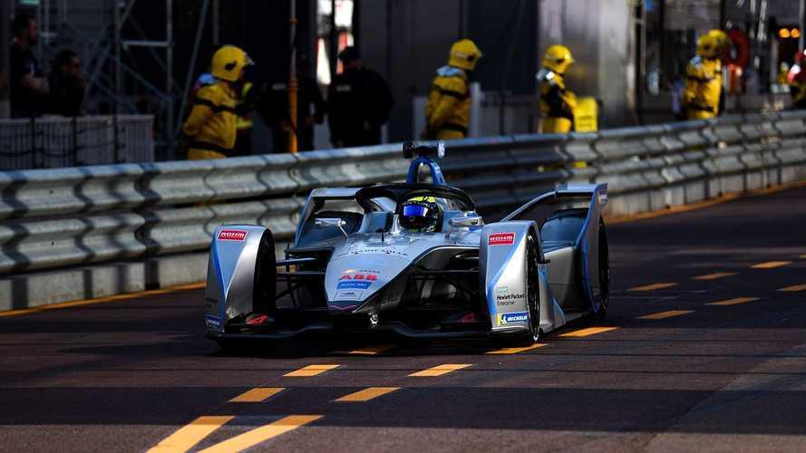 Massa a fini l'E-Prix de Monaco... en roue libre !