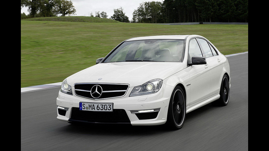 Mercedes C63 AMG Restyling