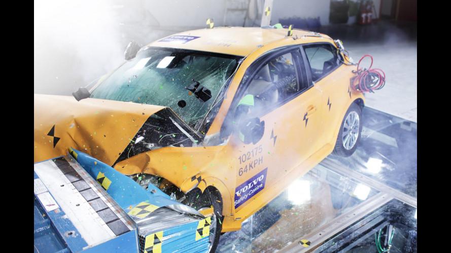 Volvo: anche l'auto elettrica è sicura