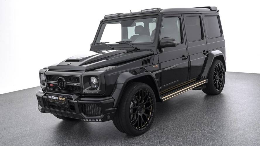 Brabus 850 Buscemi Is An Extravagant G63 With Matching Sneakers
