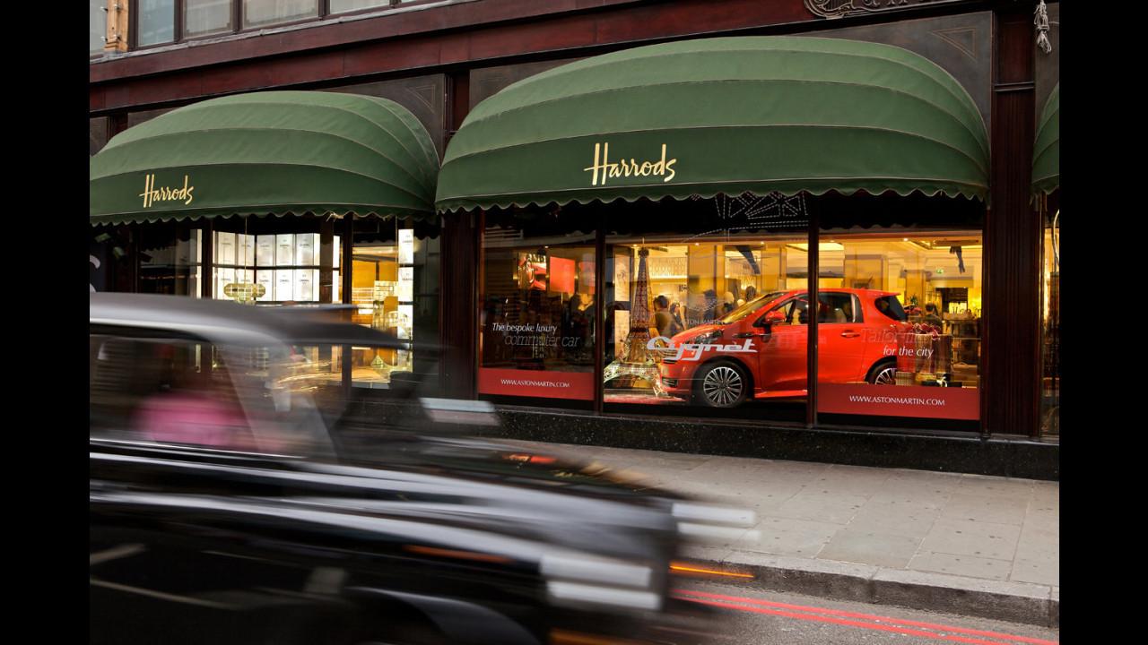 Aston Martin Cygnet da Harrods