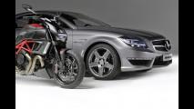 Ducati Diavel e Mercedes CLS63 AMG