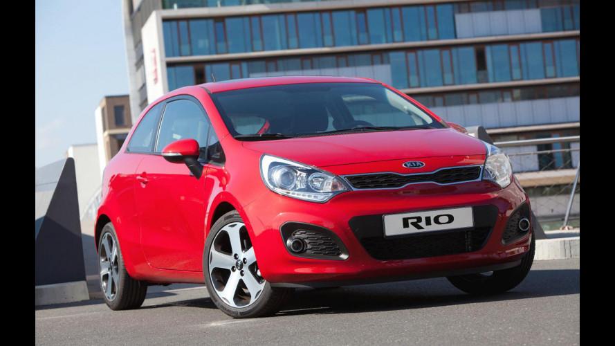 Nuova Kia Rio 3 porte: i prezzi