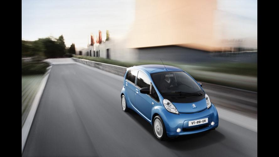 Peugeot iOn, guidare senza rumore