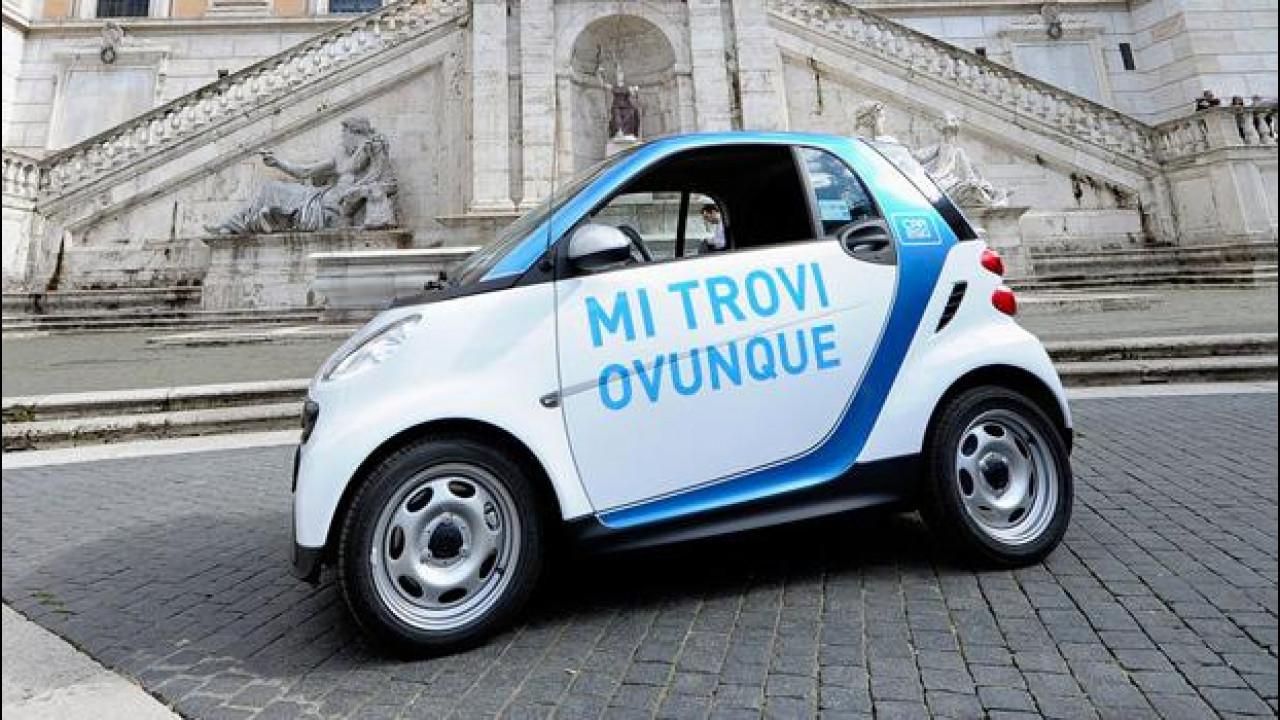 [Copertina] - car2go di smart: fioccano le iscrizioni anche a Roma