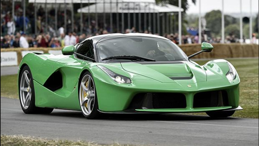 Goodwood, Jamiroquai e LaFerrari verde [VIDEO]