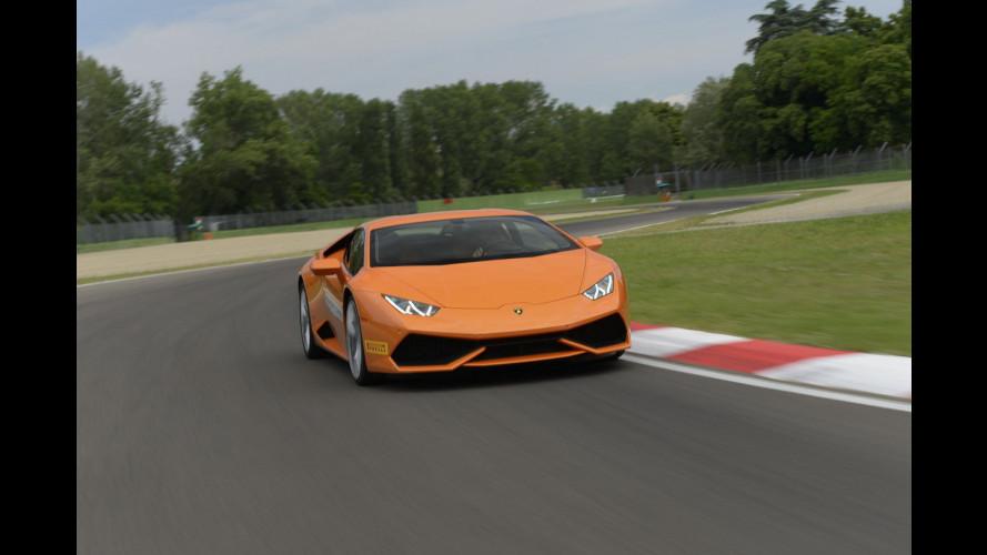 Lamborghini Huracán, l'emozione di guidarla a Imola [VIDEO]