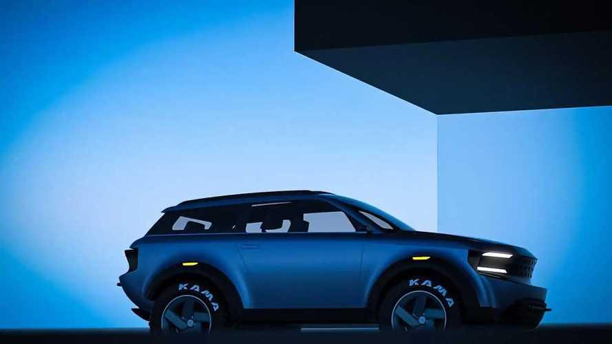 Lada Niva от студии Icona Design