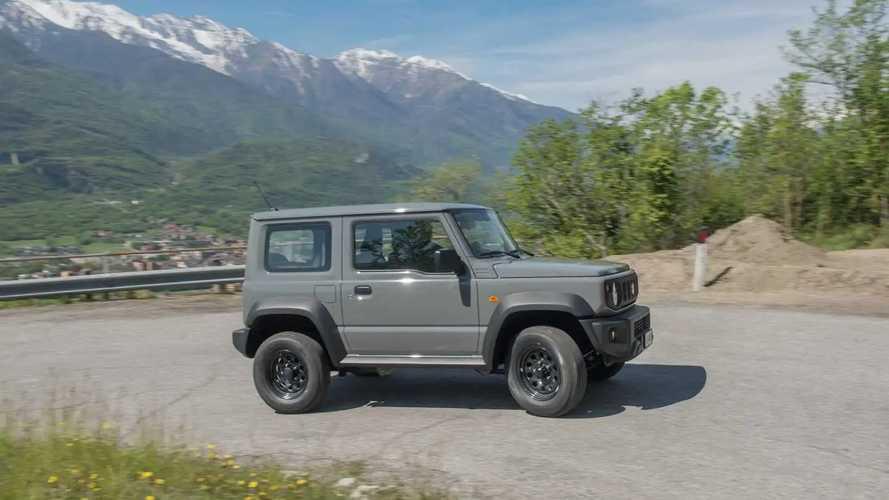 Suzuki Jimny Pro, le foto della prova