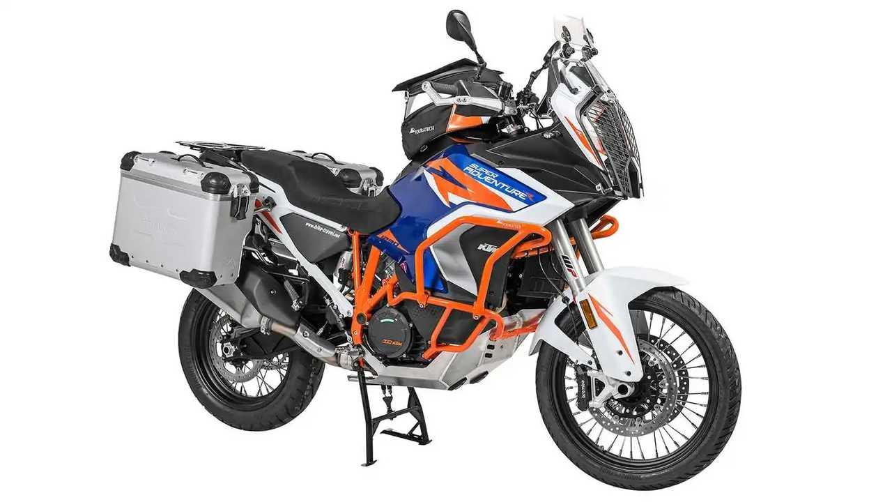 2021 KTM 1290 Super Adventure R - Touratech Accessories