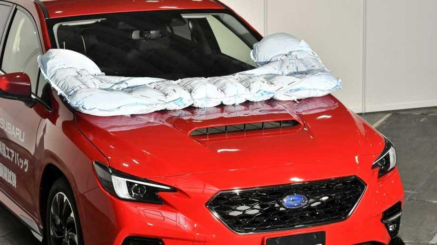 Subaru Levorg, Japonya'da dış hava yastığına kavuştu