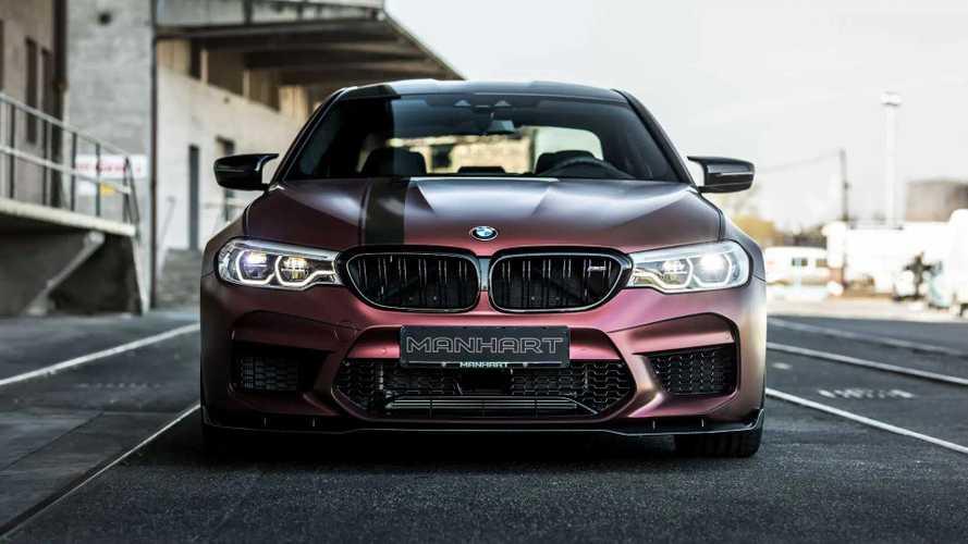Egészen brutális teljesítményre képes az új, feltuningolt BMW M5