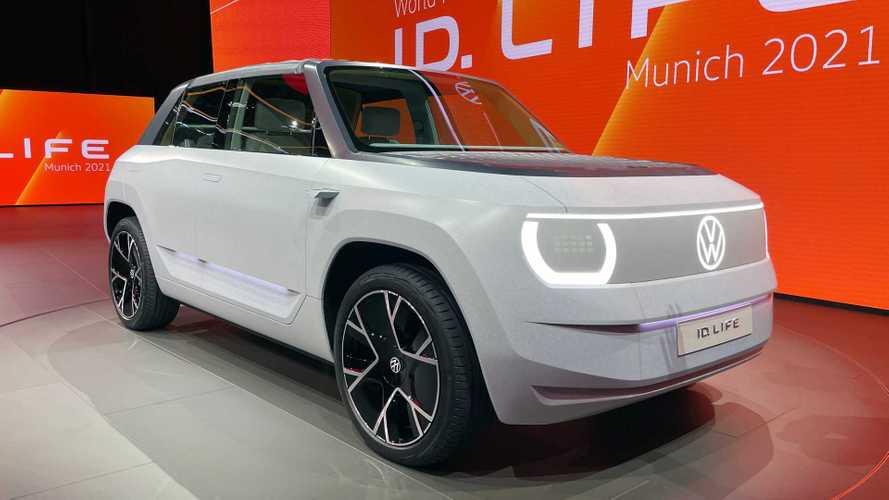 VW ID. LIFE: Ausblick auf Elektro-Kleinwagen für 2025
