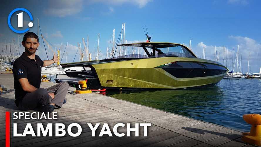 Yacht Tecnomar for Lamborghini 63, supercar del mare da 4.000 CV