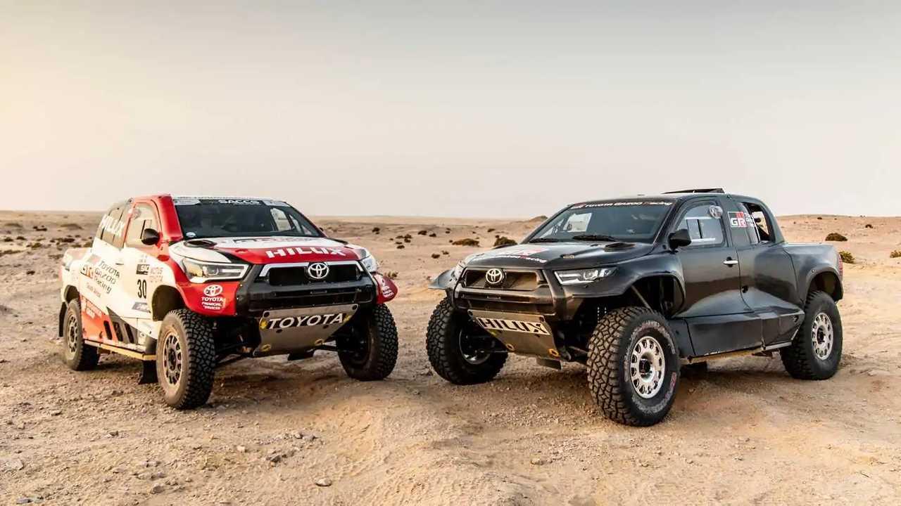 Toyota, tutto pronto per la Dakar 2022