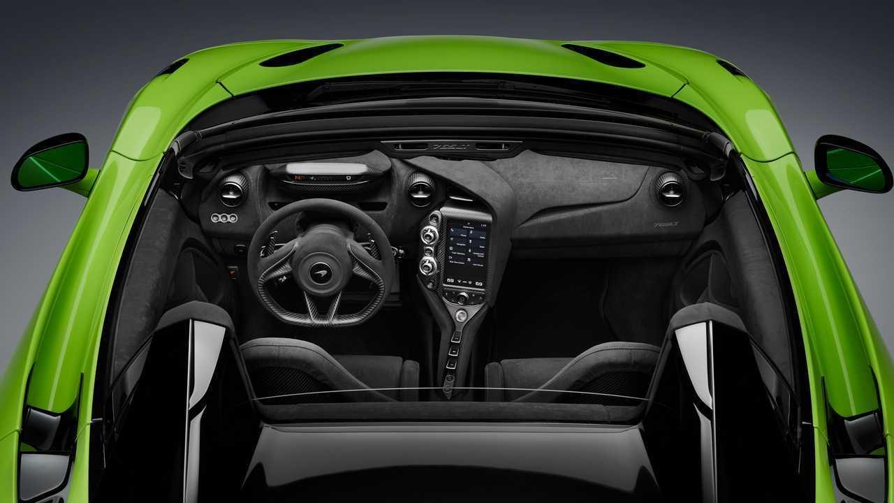 2021 McLaren 765LT Spider (interior)