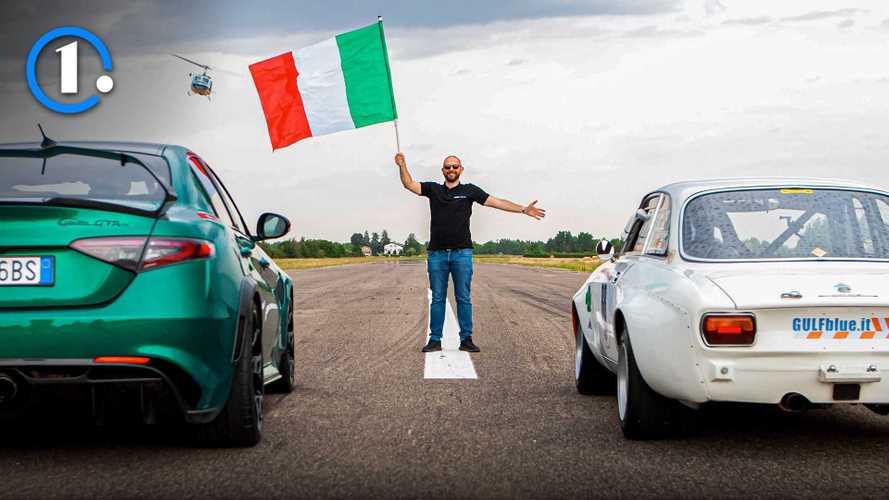 Drag Race tutta Alfa Romeo: Nuova Giulia GTAm vs Giulia GTAm