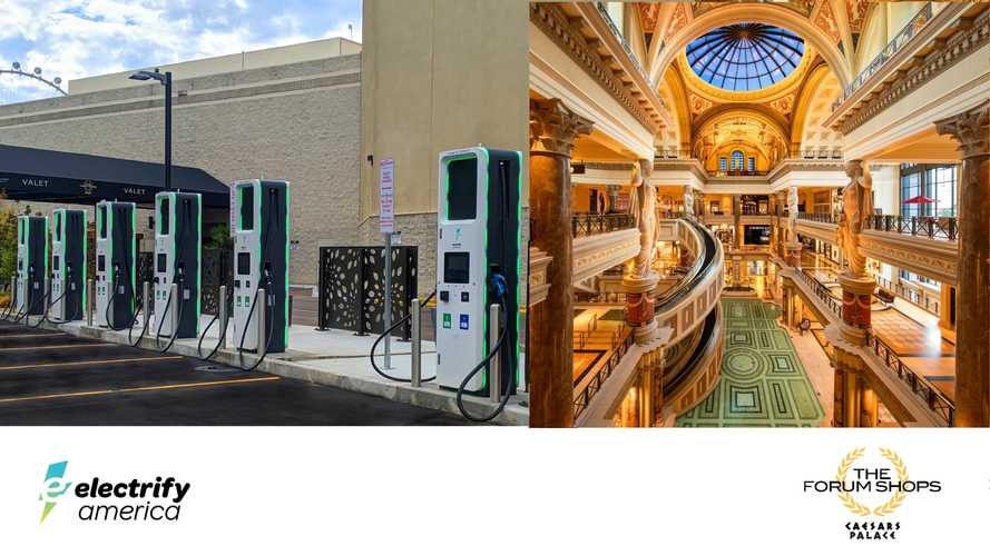 Electrify America To Install DC Fast Chargers At Caesars Palace In Las Vegas