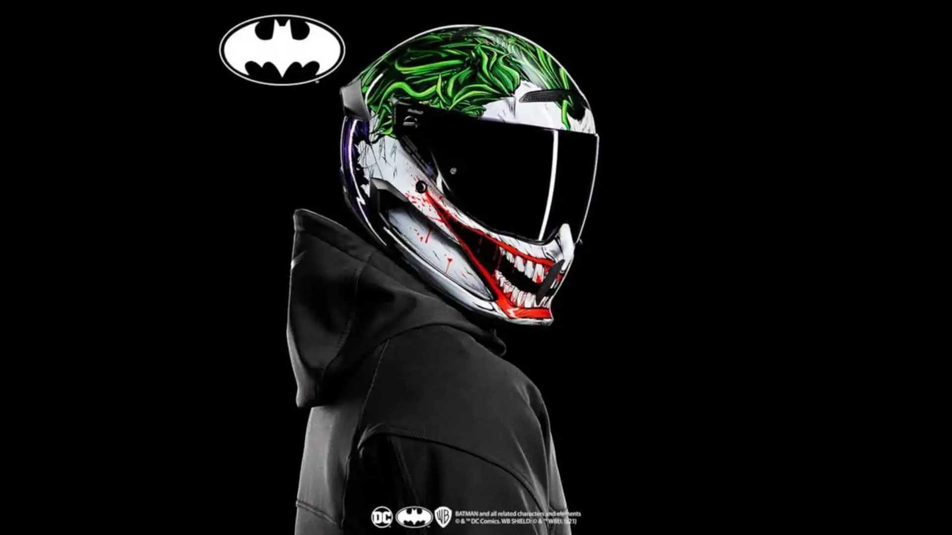 Ruroc Atlas 3.0 Helmet - Joker Front Three Quarter View
