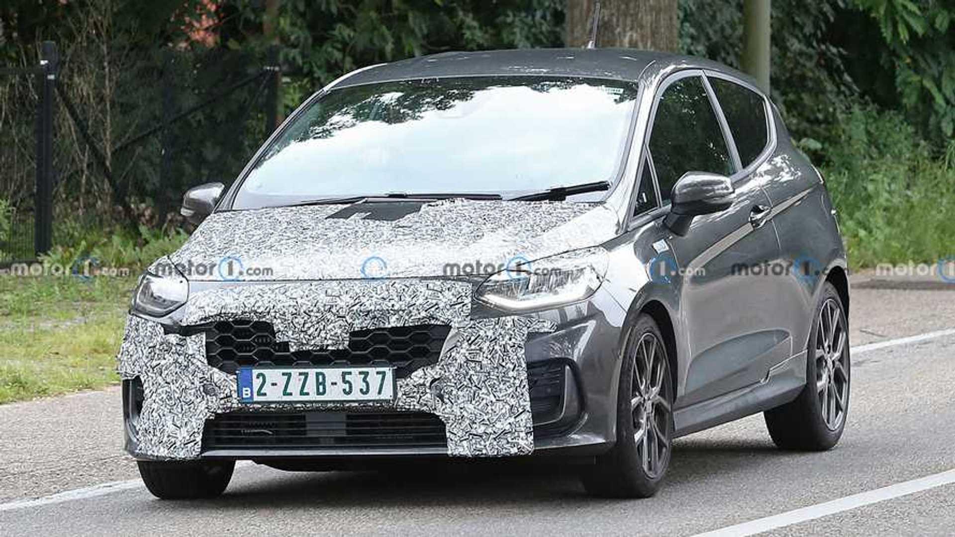 New Ford Fiesta Spy Shots