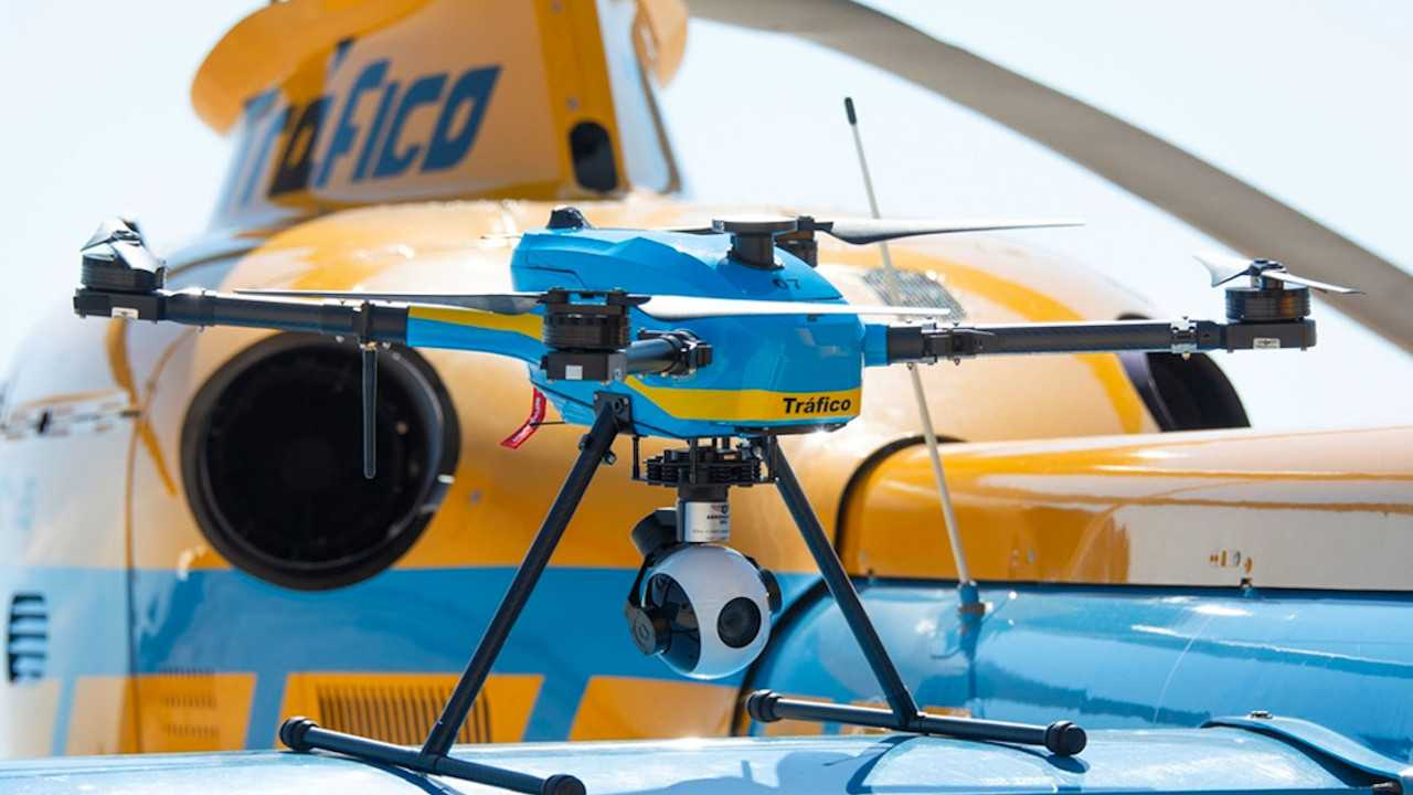 Spain Is Deploying Drones To Monitor Traffic Violations
