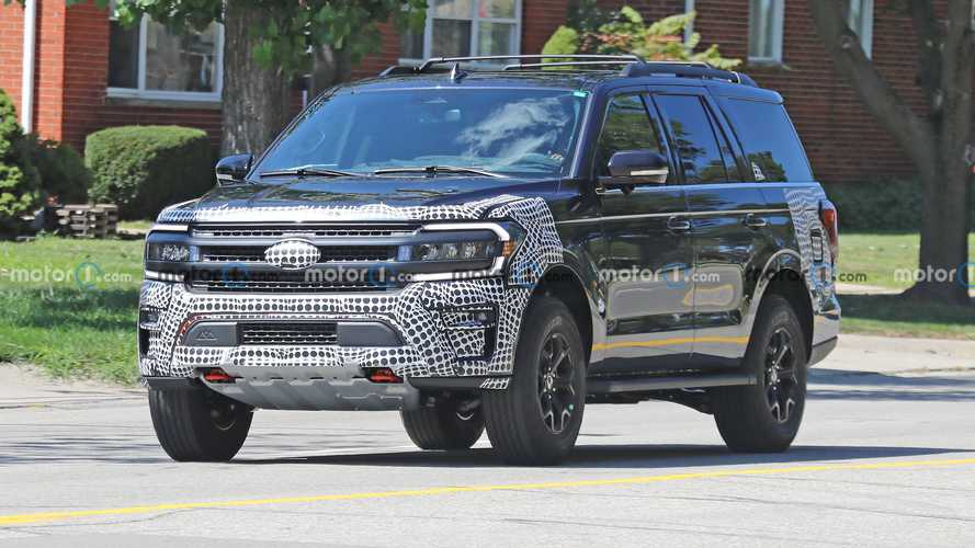 2022 Ford Expedition Timberline new spy photos