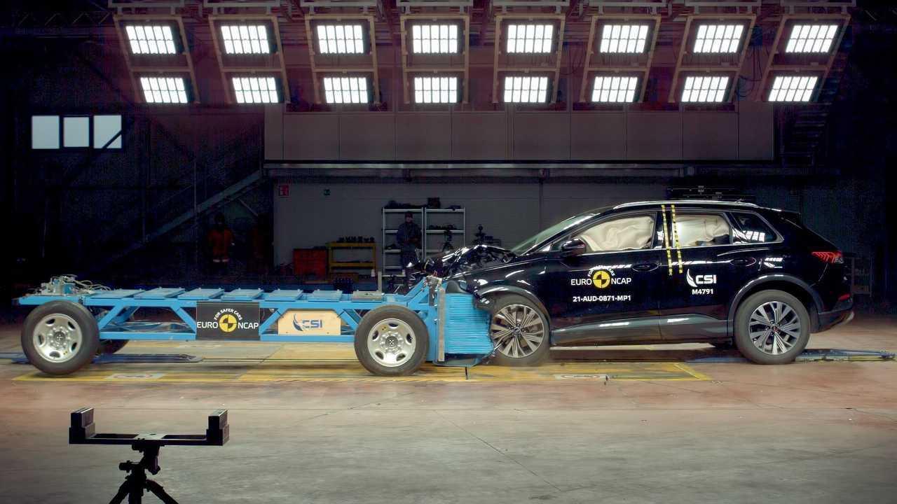 Audi Q4 e-tron Euro NCAP Testes de colisão e segurança