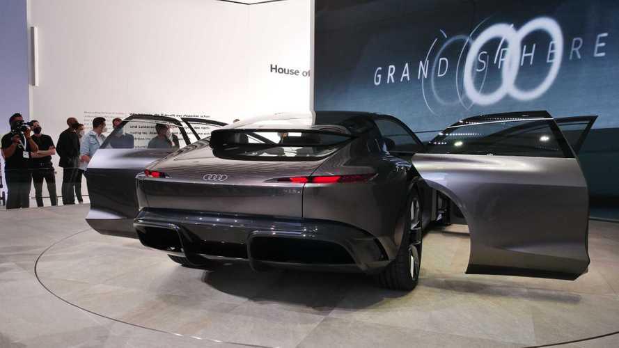 Audi grandsphere, un jet privato stradale elettrico a tutto relax