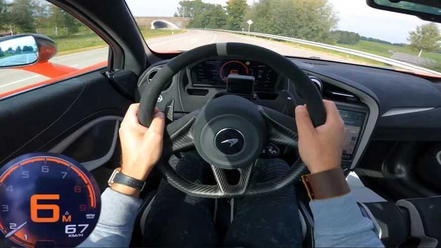 A Novitec 843 lóerős McLaren 765LT-je úgy gyorsul, hogy szem nem marad szárazon