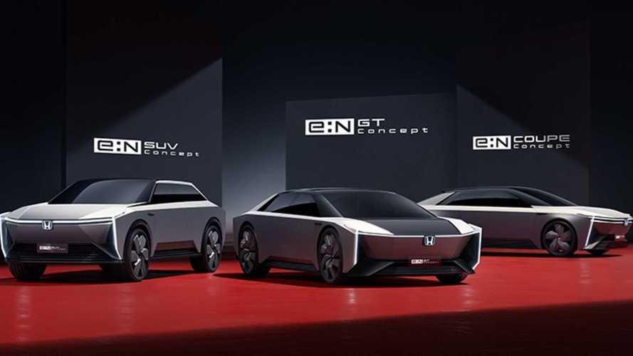 Honda Debuts Five e:N Concepts Showing The Future Of Its EVs