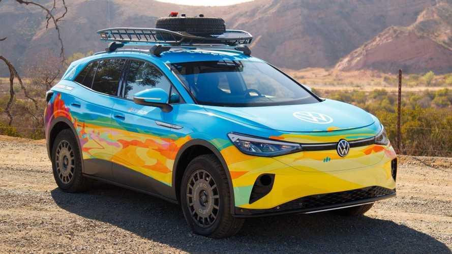 Este Volkswagen ID.4 GTX se enfrentará al Rebelle Rally 2021