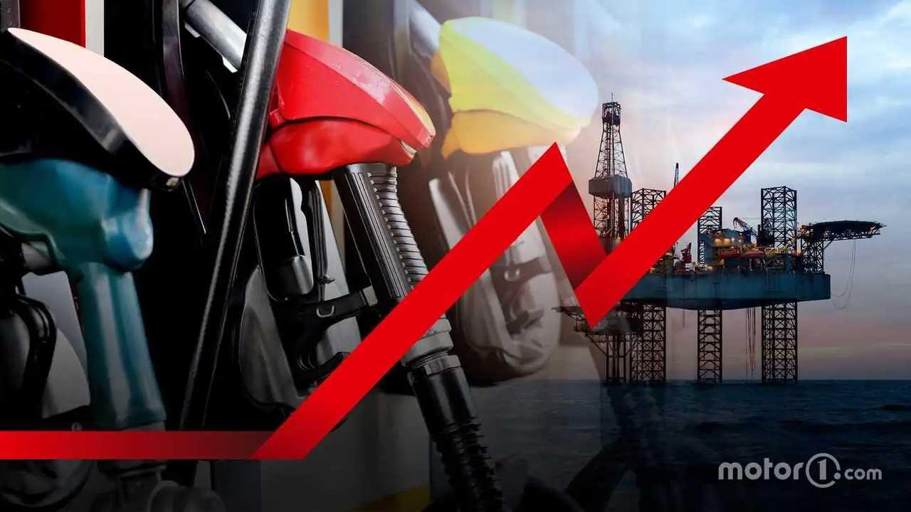 Prezzi di benzina e diesel in aumento