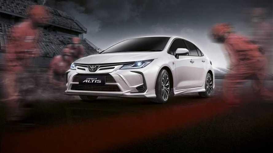 Toyota Corolla Nürburgring Sürümü kendini Tayland'da gösterdi