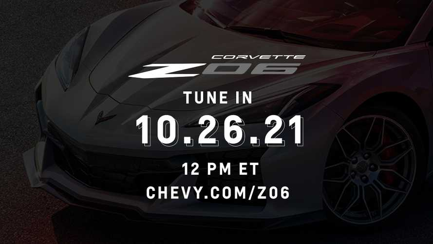 Chevy Corvette Z06: Here's How To Watch The October 26 Reveal