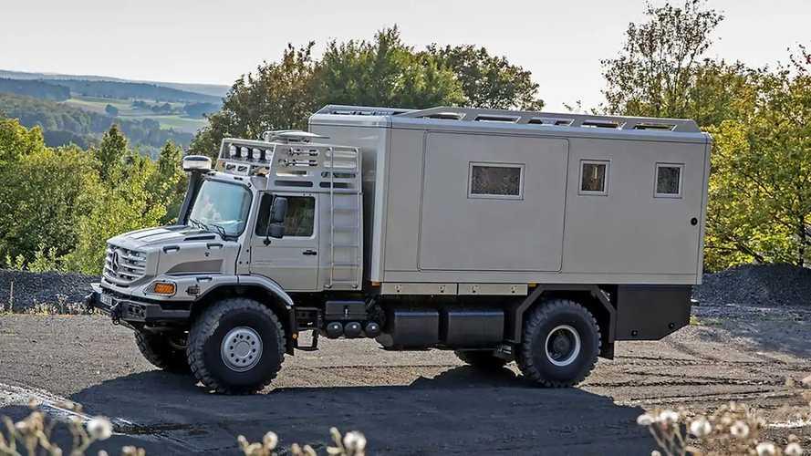 Mercedes Zetros 2733 6x6 als Expeditionsmobil von Blissmobil